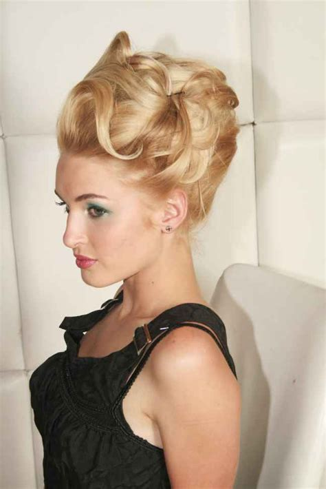 Vintage Updo Hairstyles by Vintage Updo Hairstyles Wedding Bff Updo