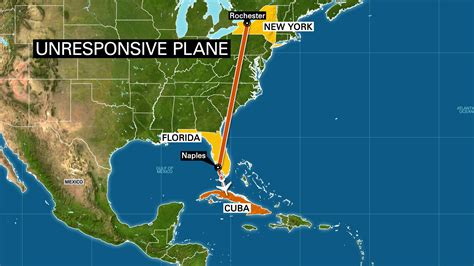 map us jamaica faa investigating after unresponsive us plane crashes