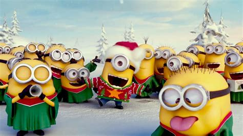 images of christmas minions minions christmas song youtube