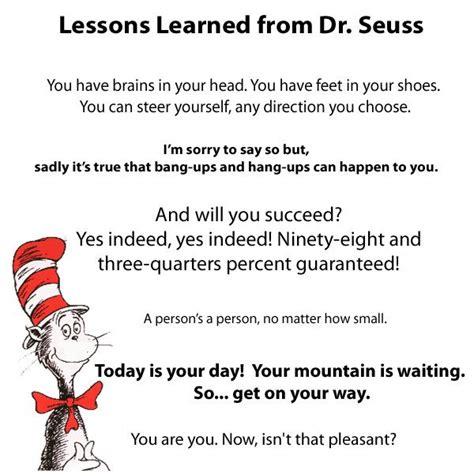7 Lessons To Learn From Losing Your by 17 Best Images About Dr Seuss Quotes On Dr