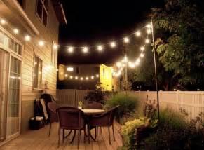 Best Outdoor String Lights by Outdoor Lights String Globe Jen Joes Design Best