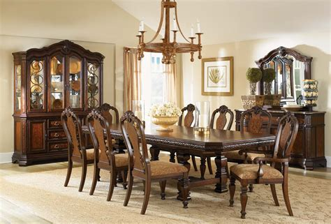 legacy dining room set legacy classic royal tradition rectangular trestle dining