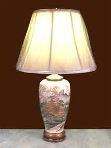 Historical Vases Pair Of Japanese Satsuma Vases Converted To Lamps Dubey