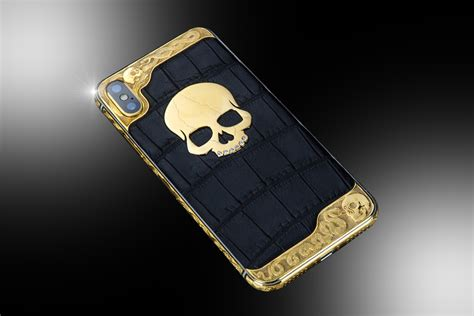 ct gold iphone xs skull diamond edition goldstriker