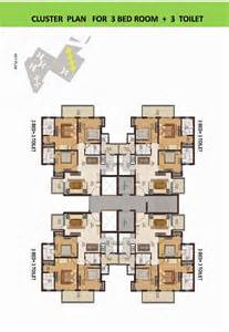 Cluster Home Floor Plans by Overview Privvy The Address Sector 93 Gurgaon