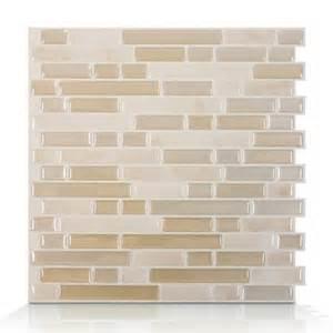 smart tiles sm1043 bellagio sabbia self adhesive wall tile