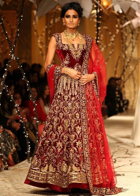 Models showcasing Rohit Bal's fabulous bridal and groom