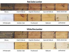 different stain colors stain colors on lumber for mountain laurel handrails