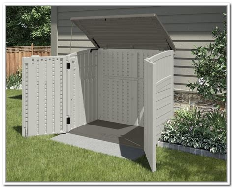 Horizontal Shed Storage by Suncast Horizontal Storage Shed Bms3400 Home Design Ideas