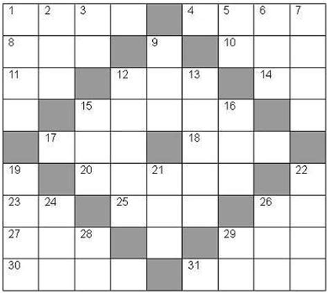 templates for word puzzles use our blank crossword puzzles to make your own custom