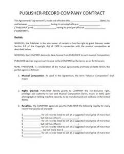 record label contracts templates pricing record label agreements