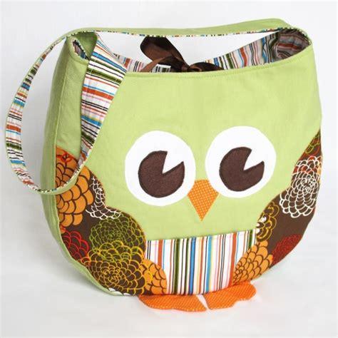 sewing pattern owl tote bag pattern owl tote bag sewing pattern