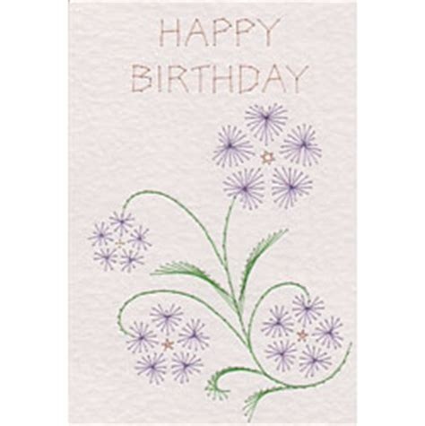 stitching cards templates free sweet violet paper embroidery pattern in free e