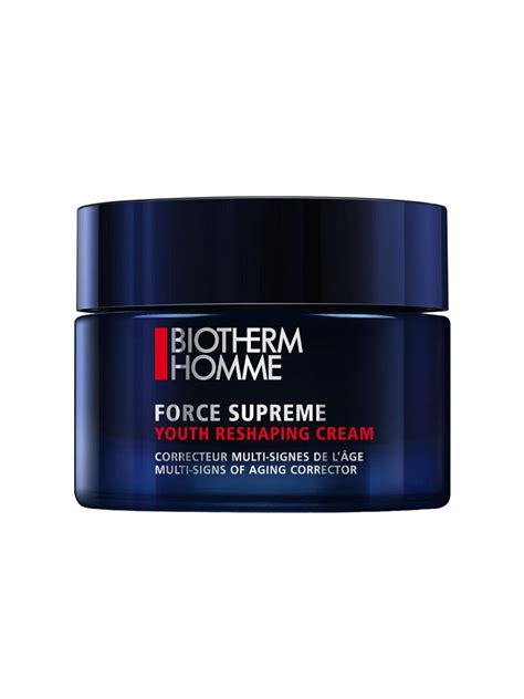 biotherm homme supreme biotherm homme supreme youth reshaping 50ml