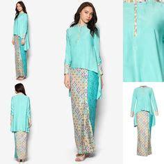 Baju Kurung Kedah Kain Batik baju kurung kedah moden kain batik melayu dress baju kurung kain batik and kebaya