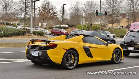mclaren 650s spotted in atlanta on 01 31 2015