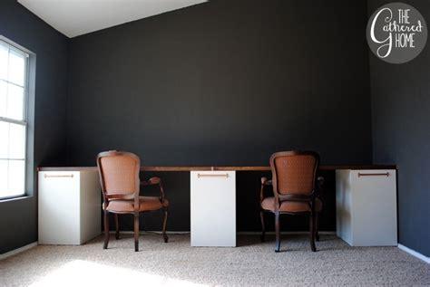 ikea hack double desk 14 inspiring ikea desk hacks you will love