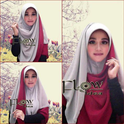 tutorial jilbab pesta lapis siria bergo pet aliya by flow jilbab flow terbaru