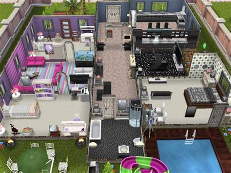 sims 3 5 bedroom house sims 3 5 bedroom house floor plan sims 3 kitchen one