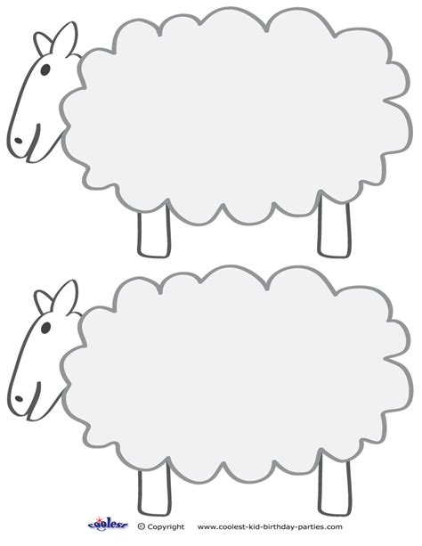 sheep template printable sheep template search results calendar 2015