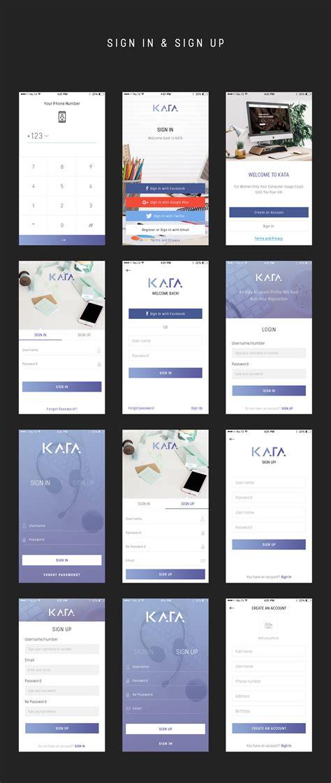 themes for kata mobile kata mobile ui kit iosup