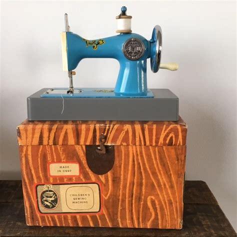 Handmade Sewing Machine - ussr children s sewing machine mini sewing machine