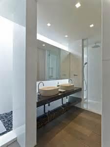 Bathroom Sliding Mirror Cabinet - lavabos sobre encimera modernos m 225 s de 50 ideas