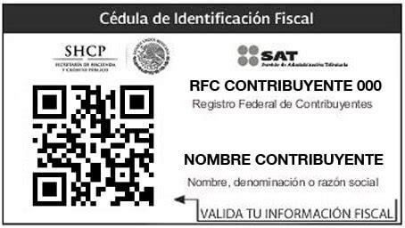 rfc registro federal de contribuyentes y newhairstylesformen2014 com imprimir rfc y cedula de identificacion fiscal del sat