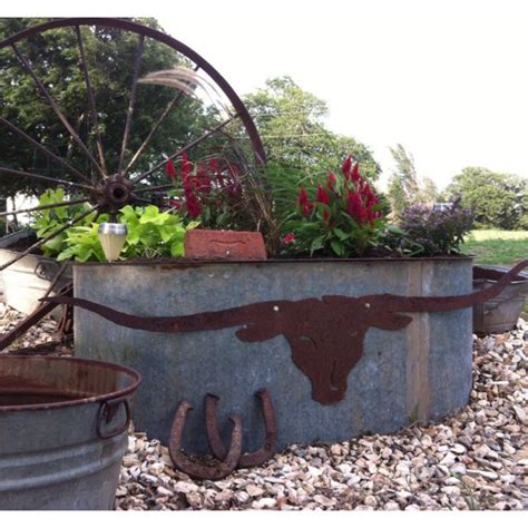 Galvanized Water Trough Planter by 17 Best Ideas About Water Trough On