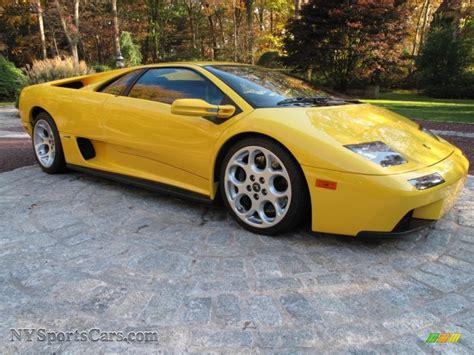 Lamborghini Diablo 2001 Price 2001 Lamborghini Diablo 6 0 In Yellow Photo 8 A12860