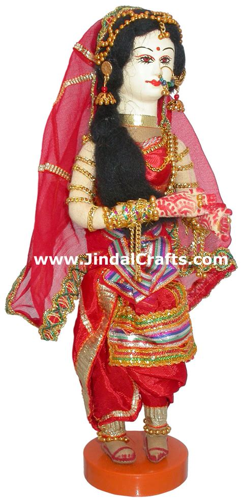Handmade Indian Costume - 15 inches handmade traditional indian collectible