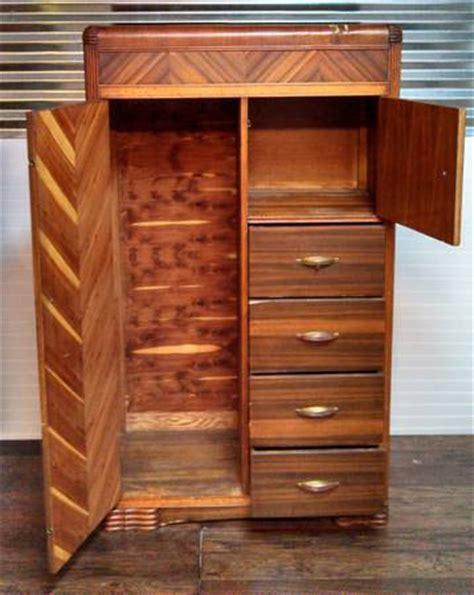 antique cedar armoire sold antique wardrobe waterfall style cedar chifferobe