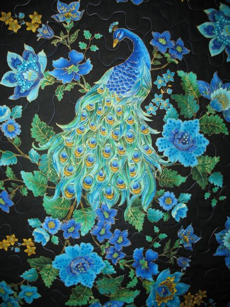 Peacock Quilts by Peacock Quilt P Is For Peacocks Peahens