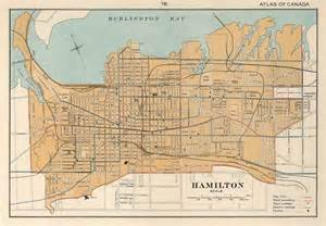 32 best images about cool maps of hamilton ontario on