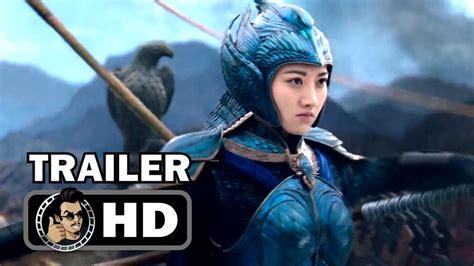 film china hd the great wall trailer 2 2017 matt damon zhang yimou