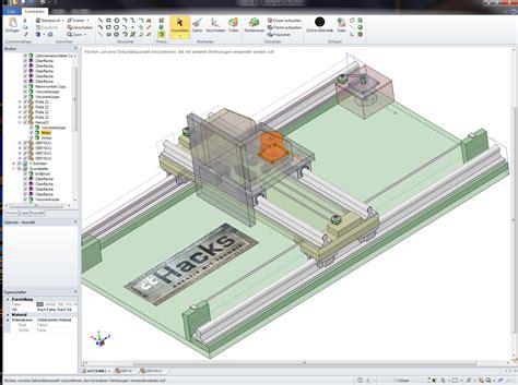 Autocad Free Online modell unserer neuen cnc portalfr 228 se aus multiplex holz