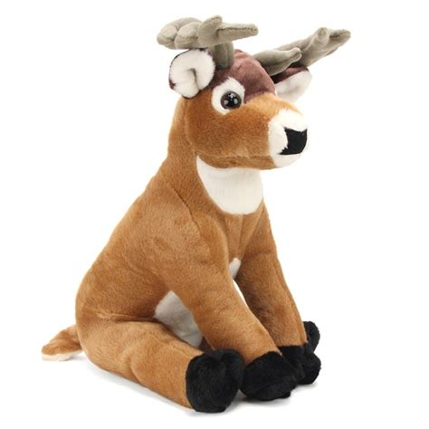 plush buck deer 12 inch stuffed animal cuddlekin by wild