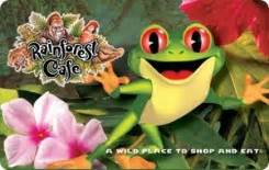 Where To Buy Rainforest Cafe Gift Cards - rainforest cafe 25 gift card rewards store swagbucks