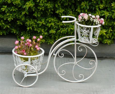 Wrought Iron Bicycle Planter by Page Not Found Buydirect4u