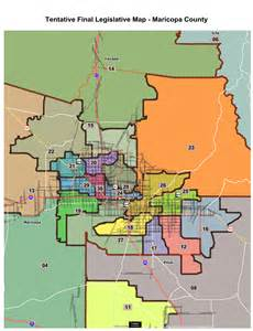 five newly districts could alter arizona legislature