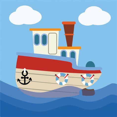 imagenes de barcos animados ilustraci 243 n de dibujos animados de barcos descargar