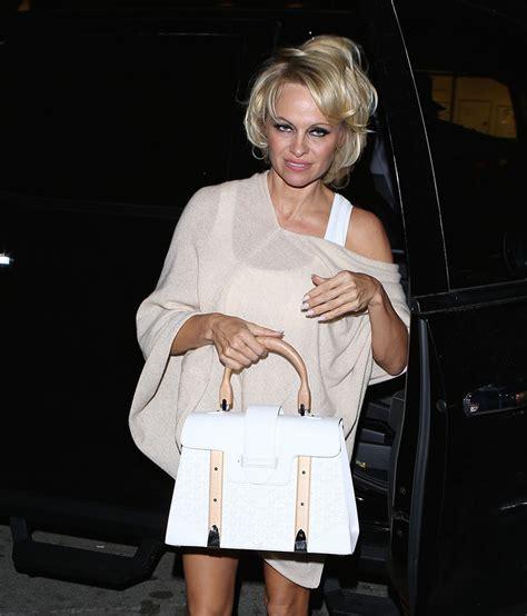 Pam Andersons Bottega Veneta Cabat Handbag by The Many Bags Of Purseblog