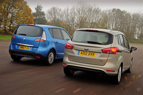 ford b max vs renault scenic pictures auto express