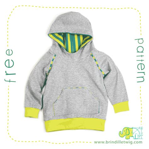 Sweatshirt Pattern Free | free hoodie sewing pattern brindille twig blog