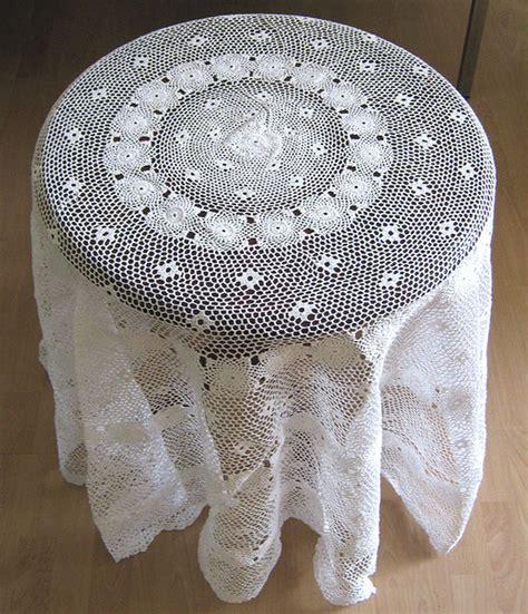tischdecken handarbeit tischdecke decke handarbeit weiss beige baumwolle wolle