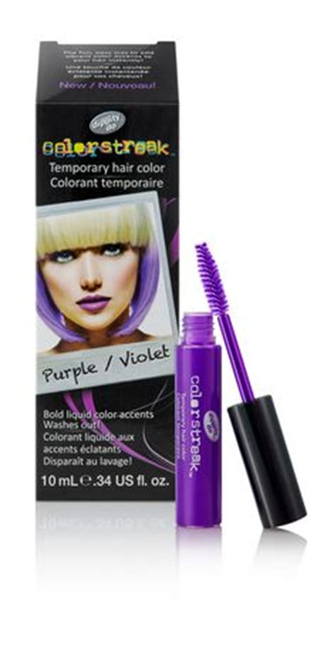 purple temporary hair color dippity do colorstreak temporary hair colour purple