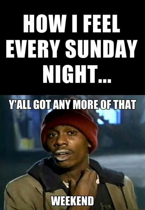 Night Meme - how i feel every sunday night funny pictures quotes