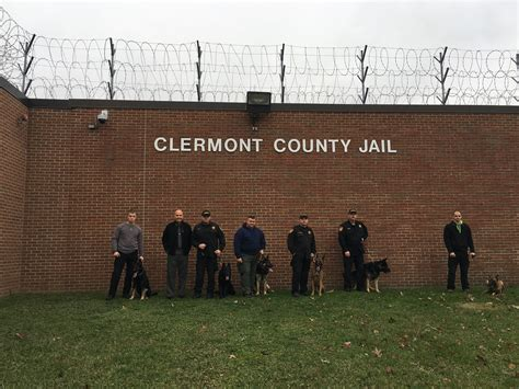 Clermont County Inmates Records Sweep Using K9 Units Clermont County Sheriff