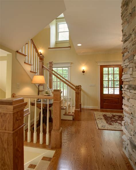 traditional staircases quiet casual home entryway and stair traditional