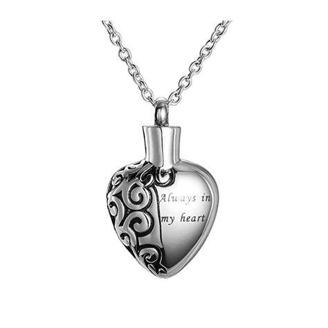 stainless steel necklace memorial cremation